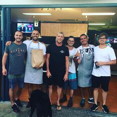 Every man and his dog was at Bondi Grill'e yesterday! Thanks for coming in guys it's always a pleasure  @mfanno  #BondiGrille #ribs #steak #burgers #chicken #moreribs #bbq #yummy #dinner #dinnertime #Coolangatta #TweedHeads #Tweed #Kirra #SnapperRocks #Queensland #Australia #instafood #instagood #instacool #local #smallbusiness #summer #holiday #surf #beach #sun #wsl by bondigrille