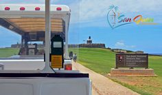 Hop on the trolley in Old San Juan. Must read guide w/ tips, hours, stops, map, suggested itinerary and walking tour of Old San Juan, Puerto Rico.