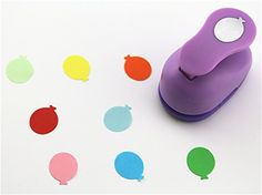 CADY Crafts Punch 2.5 cm paper punches paper flower (Balloon) * Want additional info? Click on the image.