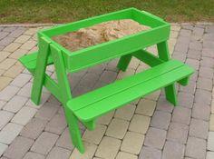 Table jardin enfant bac a sable delamaison