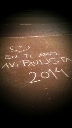 Avenida Paulista. Amar.