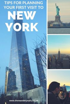 Make the most out of your first trip to #NewYork with these easy to follow tips from The Wander Years #thewanderyears