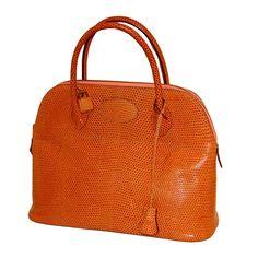 Hermes, Bolide Bag in Lizard 32cm, Rare.