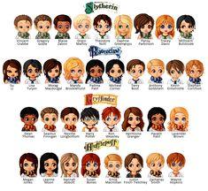 Hogwarts students 1991-1998 by JamieBrooks95 on deviantART
