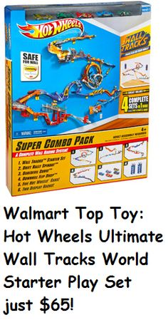 Hot Wheels Ultimate Wall Tracks World Starter Play Set Hot Wheels Birthday, Boy Birthday, Hot Wheels Bedroom, Amazing Lego Creations, Walmart Deals, Toys R Us Canada, Top Toys, Plastic Model Kits, Toy Store