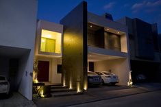 Une maison représentative de l'architecture contemporaine…