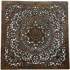 wood wall art panel natural wood carved wall hanging feng shui
