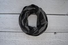 Dark Gray Heart Toddler and Child Infinity Scarf