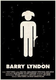 Affiches des films de Stanley Kubrick en pictogrammes