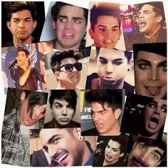 """Adam Lambert: Instagram pic - """"Thank u Glamberts for reminding me of how much of a dork I am. Lol."""""""