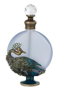 I love vintage perfume bottles and atomizers of all designs -- really like this one -- songbirdiam2