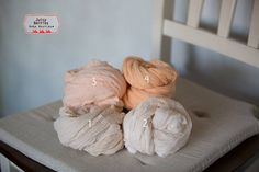 Natural Organic Cheesecloth Wrap  Eco Plant Dyed Cheesecloth