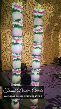 Flower Garland Wedding, Flower Garlands, Wedding Garlands, Wedding Decorations, Coconut Decoration, Engagement Ring Platter, Lotus, Hair Beauty, Flowers