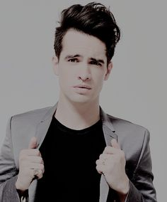 "{Brendon Urie} ""Heyo! I'm Brendon Urie I'm 21 and single. I'm bisexual. I have a tiny crush on my band members. Both Spencer and Dallon."""