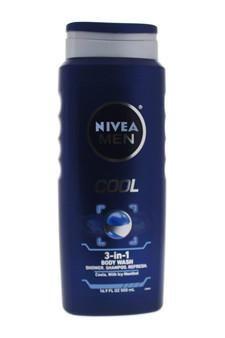 Nivea Men Cool 3 In 1 Body Wash Body Wash Nivea With Images Body Wash Nivea Cool Stuff