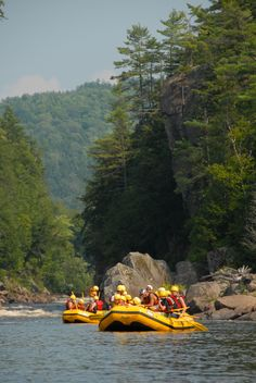 White water rafting on the River Ruge