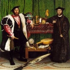 That weird painting by Holbein