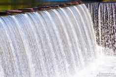 Winchester Drop  Photos of: Winchester Dam on the North Umpqua River, Shot from Winchester Dam Trail, Oregon