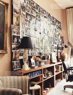 Drew Barrymore's office - inspiration board
