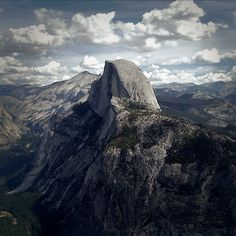 Half Dome in Yosemite National Park. One of my favorite places in the world, especially when your sitting on top of that massive rock