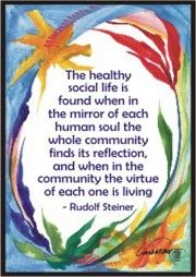 The healthy social life... Rudolf Steiner