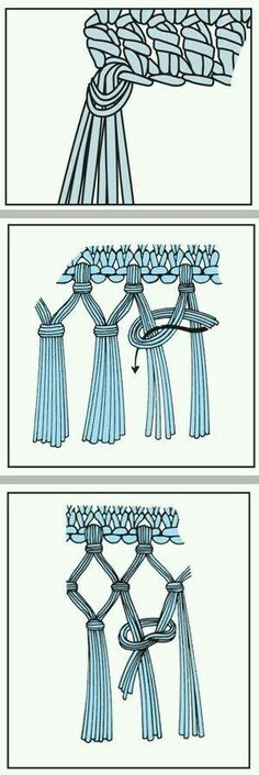 How to add tassels for finish look