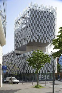 Kengo Kuma. EQUITONE facade materials. FRAC marseille. www.equitone.com #architecture #material #facade
