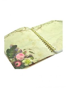 Papaya Art Spiral Notebook - Bloom