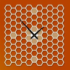 honeycomb clock by Keith Moore