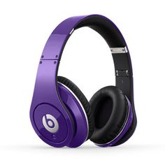 Beats Headphones - Studio Purple I want these!! They will match my hair!! :)