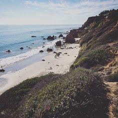 El MAtador State Beach Los Angeles California Roadtrip Malibu