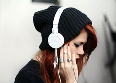Music can often speak the way we feel, listen to some upbeat music when you feel down