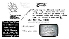 """""""no matter what people say you are beautiful"""" by savihernandez on Polyvore featuring beauty and PBteen"""