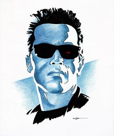 BLOG: Cool Art: Terminator: Great artwork by the always excellent James White