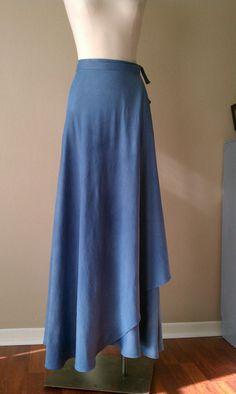 Reversible Wrap Circle Skirt