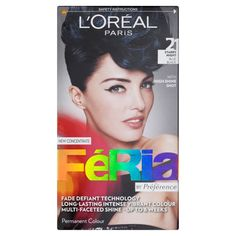 L'Oreal Feria Ultra Lighting Permanent Hair Colors (21 Blue Black) ** Continue to the product at the image link.