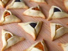 Easy Buttery Hamantaschen - makes about 32 cookies
