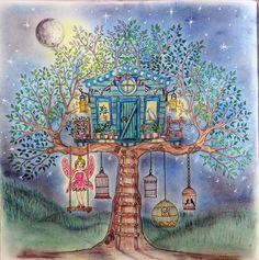 Magical Tree House , Secret Garden, Johanna Basford
