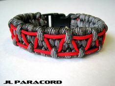 Stitched Trilobite Paracord Bracelet by JLParacordGear on Etsy, $8.50
