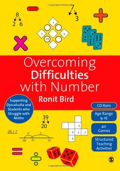 Amazon.com: Overcoming Difficulties with Number: Supporting Dyscalculia and Students who Struggle with Maths (9781848607118): Ronit Bird: Bo...