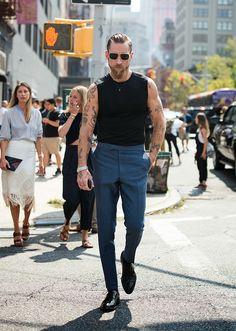 Justin O'Shea in New York