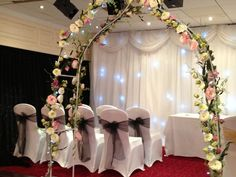 Wedding arch for hire £60.00