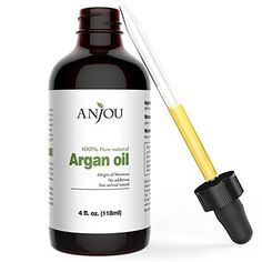 Product review for Moroccan Argan Oil for Hair, Face, Skin, Body & Nails by Anjou - 4 fl. Oz - 100% Pure Natural & Organic, Extra Virgin Cold Pressed Oil, Anti - Aging, Anti - Wrinkle, Beauty Secret  - Best from Morocco Anjou Pure Argan Oil is made from 100% argan nuts sourced from the Morocco-grown argan trees. Every batch is individually picked to guarantee the best quality, and hand cracked and cold pressed with nothing else added. What you get is 100% pure argan oil wit