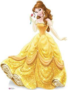 Disney Princess Belle Cardboard Standup - 5' Tall from BirthdayExpress.com