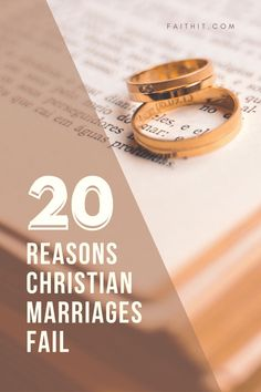 Marriages--even Christian marriages--fail for many reasons and often from a combination of reasons. #marriage #marriages #christianmarriage #marriagesfail #divorce Happy Marriage Tips, Marriage Goals, Marriage Humor, Marriage Problems, Marriage Advice, Marriage Bible Verses, Biblical Marriage, Wife Humor, Godly Wife