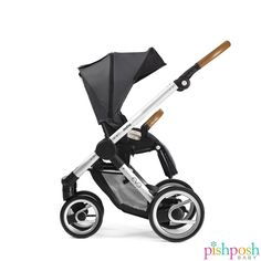 We are excited to announce that we now carry Mutsy! The Evo Urban Nomad Stroller from Mutsy is both sleek and practical. Features include reversible seating, large underseat basket, quick, compact fold, and much more. Available in silver or black chassis, and dark or light grey. Priced at $449. See our entire Mutsy collection!   http://www.pishposhbaby.com/mutsy-evo-urban-nomad-strollers.html