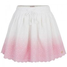 Juicy Couture Girls Dip Dye Broderie Anglaise Skirt  | AlexandAlexa #icecreamtrend
