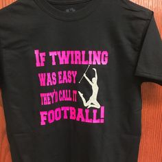This super cute twirler shirt could be yours today!  This is my favorite so far!