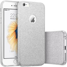 iPhone 6s Case, Vinpie 3 Layer Hybrid Protective Girls Bling Glitter Soft Cover Bumper Case for 4.7 inches iPhone 6s / 6 (Silver): Amazon.ca: Cell Phones & Accessories