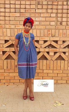 Yele/hele ya Sepedi Pedi Traditional Attire, Traditional Outfits, African Fashion Traditional, African Maxi Dresses, Dress Ideas, Dress Skirt, App, Summer Dresses, Skirts